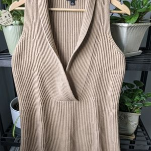Ann taylor sleeveless tunic sweater